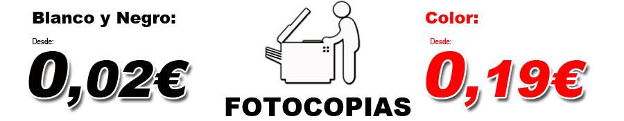 Tenemos las fotocopias mas baratas de Toledo. Somos la copistería más barata de Toledo