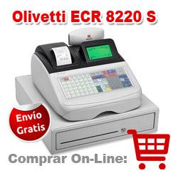 Caja registradora Olivetti ECR 8220 S