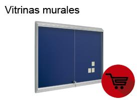 Vitrinas murales para presentación de documentos.