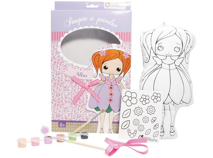 Manualidades para niños: colorear muñecas » HiperOffice