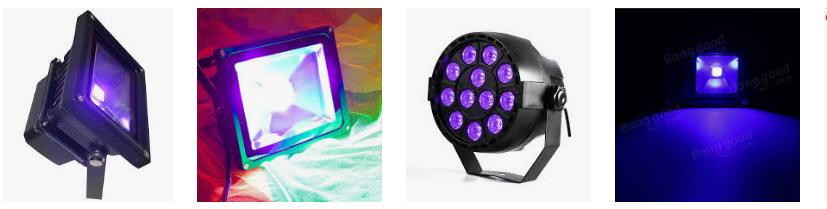 Proyectores y bombillas ultravioletas